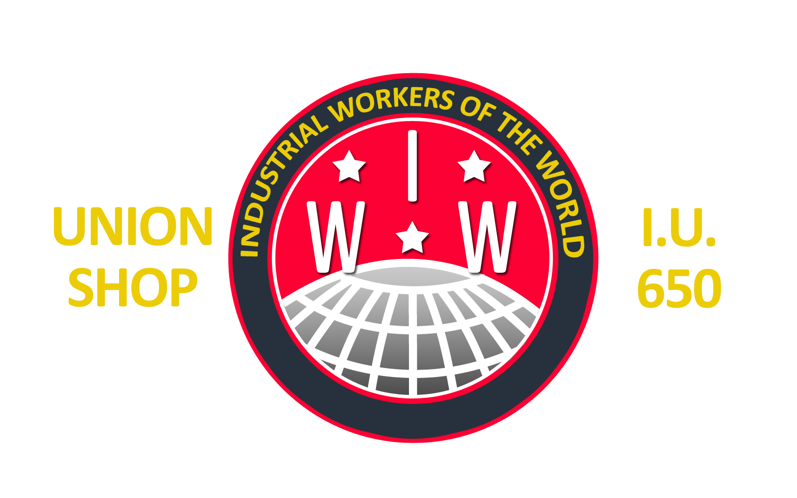 Site union-made by I.W.W. Industrial Union 650