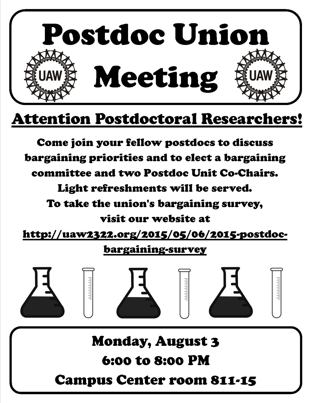 2015-07-23 PRO Unit Meeting flyer